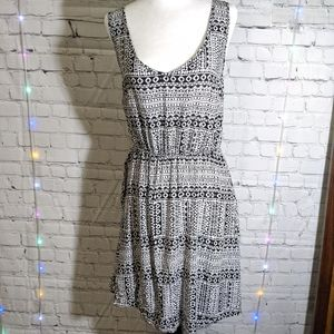 GARAGE Sleeveless Ladder Back Mini Dress